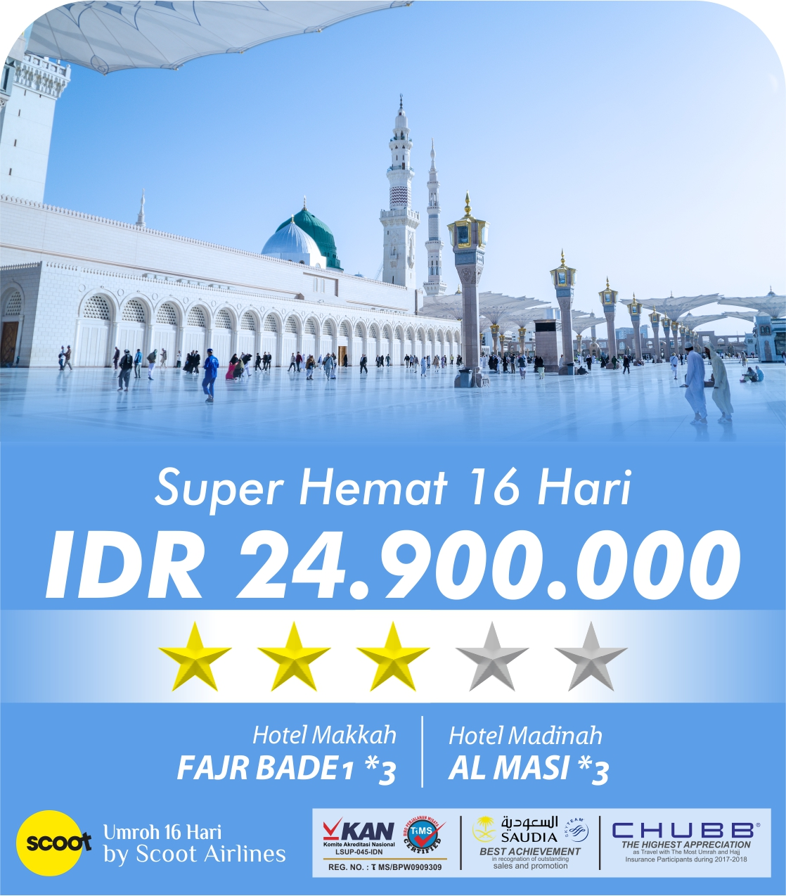 Super Hemat 16 Hari Scoot Airlines